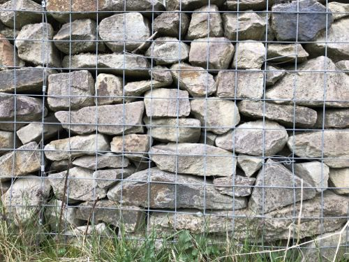 Gabion Wall Image