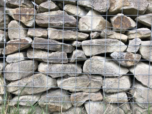 Gabion Wall Texture