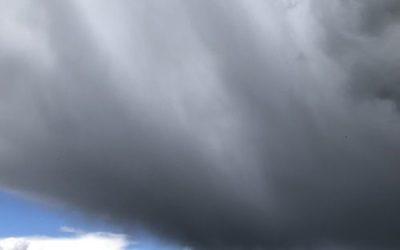 Grey Cloud Sky Image SK05