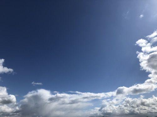 Sun and Cloud Sky Texture SK08
