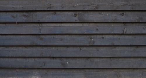 Black timber cladding W44