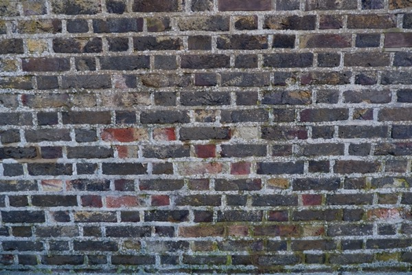 Old Dark Brick Wall Texture B55