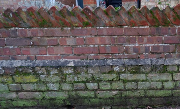 Old brick wall texture B50