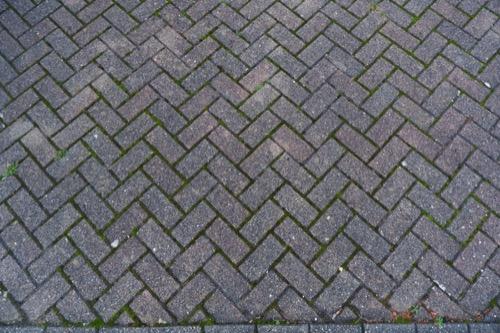 Block Paving Driveway Texture GR48