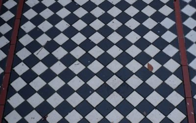 Chequered Tile Texture GR38