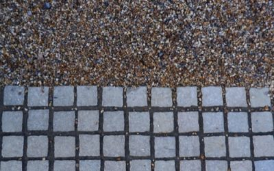 Gravel and Block Paving Texture GR50