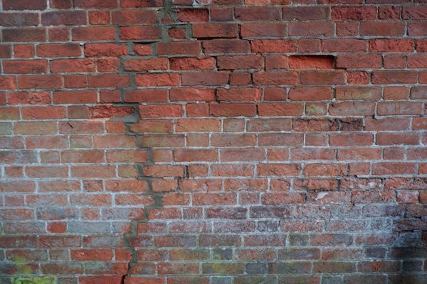 Old Red Brick Wall Texture B60
