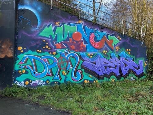 Graffiti stock photo M61
