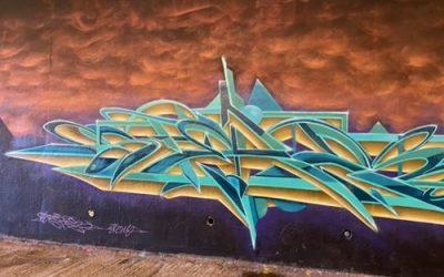 Graffiti stock photo M65