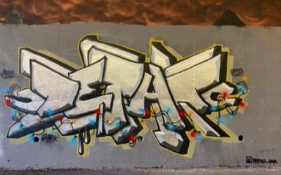 Graffiti stock photo M66